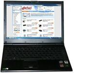 sony vaio pcg-6w7p intel dual core 2 laptop windows 7 webcam fingerprint reader charger