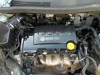 VAUXHALL CORSA D 1.2 ENGINE A12XER LOW MILES ONLY 21K ALSO FITS AGILA ADAM