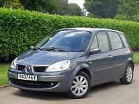 1 Owner From New 2007 57 Plate Renault Scenic 1.6 6 SPEED Manual 5 Door NEW 12 Month MOT 100k FSH