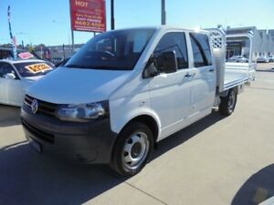 2011 Volkswagen Transporter T5 MY11 White 7 Sports Automatic Dual Clutch 4D Cab Chassis Granville Parramatta Area Preview
