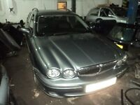 JAGUAR X-TYPE 2.5 V6 AUTO CLASSIC AWD 2004 DRIVERS DOOR*breaking for spares*