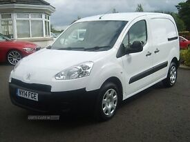 Aug 2014 Peugeot Partner 850 S L1 1.6 HDI FULLY PLY LINED £5250 +VAT
