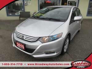 2010 Honda Insight GAS MISER 'GREAT VALUE - LX EDITION' 5 PASSEN