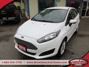 2016 Ford Fiesta FUEL EFFICIENT SE EDITION 5 PASSENGER 1.6L - DO
