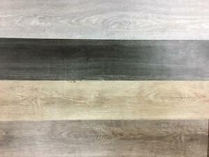 Luxury Wood Look Vinyl Plank 4-Colors Available