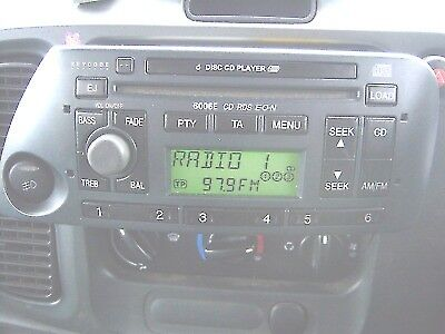 Ford Ka  Disc Changer Radio Ford   Cd Player Car Stereo Code