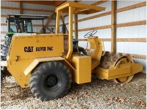 1995 SUPER PAC 540PC PADFOOT COMPACTOR FOR SALE!