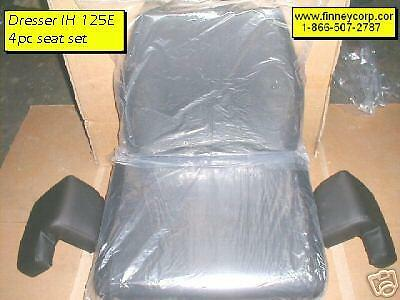 International Dresser 125e Dozer 4pc Seat Cushion Set