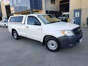 2006 Toyota Hilux GGN15R 06 Upgrade SR White 5 Speed Manual Pickup Moorebank Liverpool Area Preview