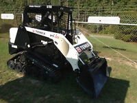 SKID STEER-BOBCAT OPERATOR REQUIRED-MAY 25TH START DATE