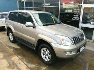 2004 Toyota Landcruiser Prado GRJ120R GX (4x4) Gold 4 Speed Automatic Wagon Hobart CBD Hobart City Preview