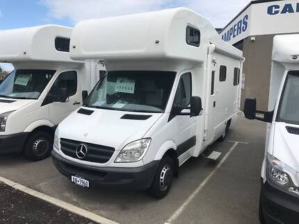 2010 Mercedes Sprinter 5 berth