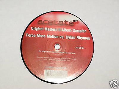 Force Mass Motion Vs Dylan Rhymes Krafty Kuts 12  Record Breaks Breakbeat