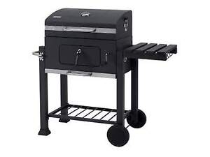Charcoal bbq used once.