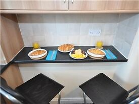 Woodstock House -Two Bedroom short stay apartment in Wishaw. Fully serviced
