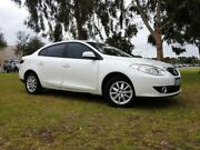 2011 Renault Fluence L38 Dynamique White Manual Sedan East Rockingham Rockingham Area Preview