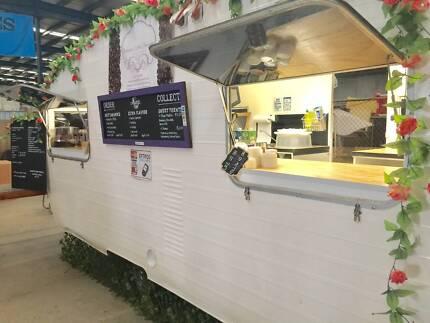 Food and Coffee Caravan FOR SALE