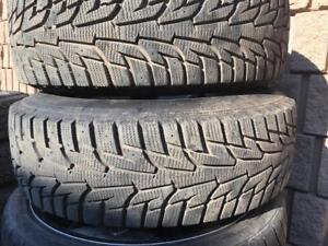 215-75-15 YOKOHAMA 2 Snow 95%tread Free Install and balance