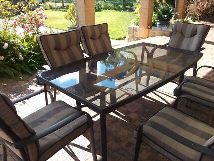 Garden setting table 2 chairs Outdoor Dining Furniture