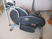 Barely used - Body Sculpture Dual Action Air Elliptical Strider - Cross Trainer
