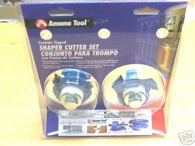 Amana Tool Shaker Mission Stilerail Shaper Cutters Sc554 New