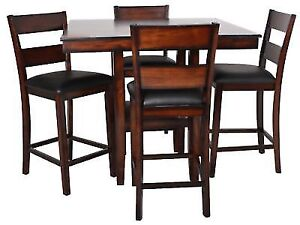 Dining Table and 4 chair set from the Brick