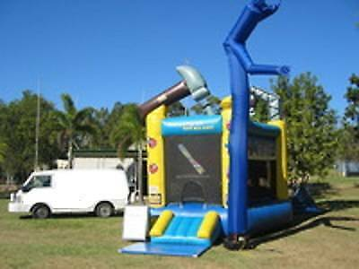 Jumping castle hire Bob the Builder Mermaid Waters Gold Coast City Preview
