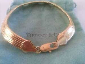 BRACELET- classic GOLD 18ct Egyptian SNAKE style- Women/Men Redcliffe Redcliffe Area Preview