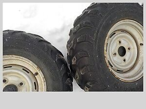 FOR SALE 2 SETS OF ATV TIRES       OPEN FOR OFFERS