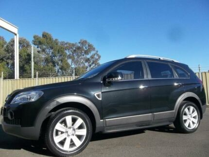 2010 Holden Captiva CG MY10 LX (4x4) Black 5 Speed Automatic Wagon