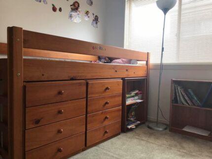 Perfect Combo space saver bunk single fir kids