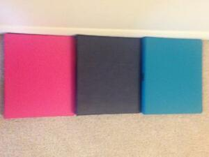 "3 1"" Binders with Bonus Lined Paper Kitchener / Waterloo Kitchener Area image 2"