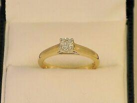 Forever diamond ring