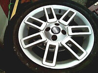 ALLOYS - MINI (BMW not old mini) - WITH 4 LEGAL TYRES - 16 INCH