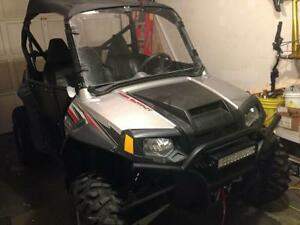 2009 Polaris RZR 800S UTV and Trailer