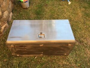 Truck Tool Box Stainless Steel - USED Miranda Sutherland Area Preview