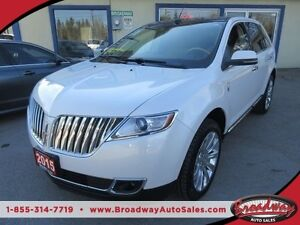 2015 Lincoln MKX LOADED ALL WHEEL DRIVE 5 PASSENGER 3.7L - V6 EN
