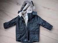 Brand New Waterproof Boys Fleecy Winter Coat | Age 3 | £8