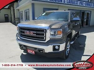 2014 GMC Sierra 1500 LOADED SLT MODEL 5 PASSENGER 5.3L - V8.. 4X