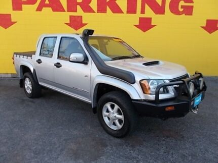 2011 Holden Colorado RC MY11 LX Crew Cab Silver 5 Speed Manual Utility