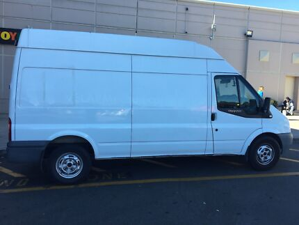 Van with man for moving