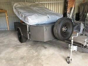 Heavy Duty Off Road 4x4 Camper 21x18 Ft Trailer sleeps 12+ Braked Port Lincoln Port Lincoln Area Preview