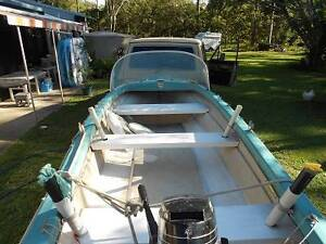 14ft  Fibreglass Boat and Trailer ,  or Swap Tewantin Noosa Area Preview