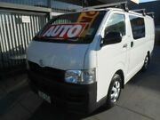 2010 Toyota Hiace TRH201R MY07 Upgrade LWB White 4 Speed Automatic Van West Hindmarsh Charles Sturt Area Preview
