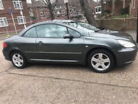 VERY CLEAN 2004 PEUGEOT 307 CC AUTOMATIC SPARES OR REPAIR