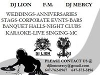 Armada DJ service for weddings and all events