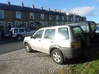 LandRover Freelander DI Spares or repair