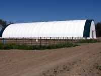 G&B Portable Fabric Buildings Winter Sale