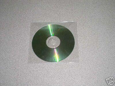 1000 New Pp Cd Sleeve Envelope Wflap Psp80
