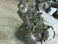 Sym Wolf 125 2012 complete bike engine